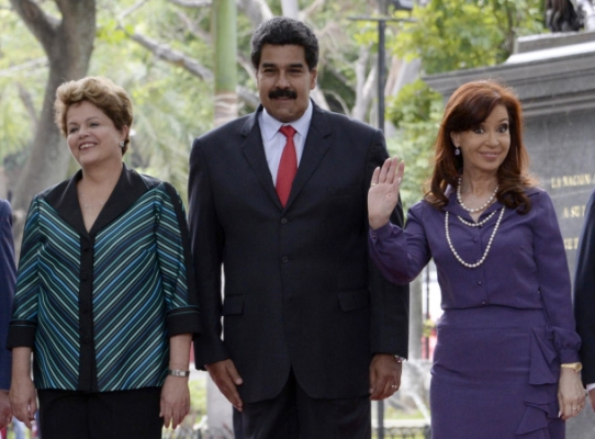 Rousseff-Maduro-y-Kirchner