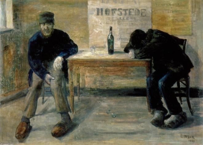 James-Ensor-The-Drunkards